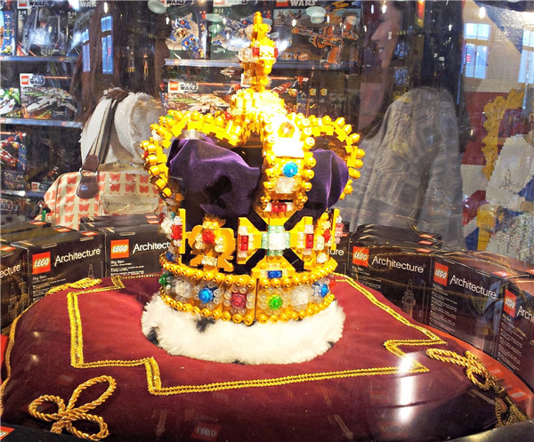 hamleys - lego crown