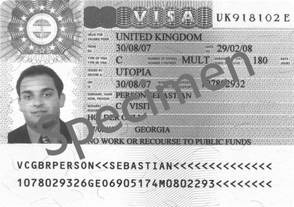General Vistor Visa