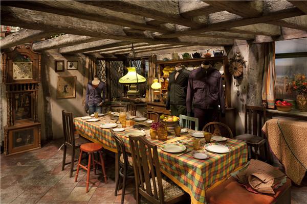 harry potter 室内