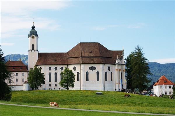 德国维斯教堂-外观