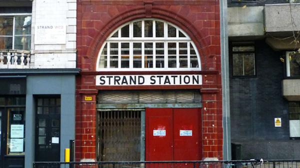 Aldwych station today