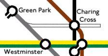 charing cross jubilee location map